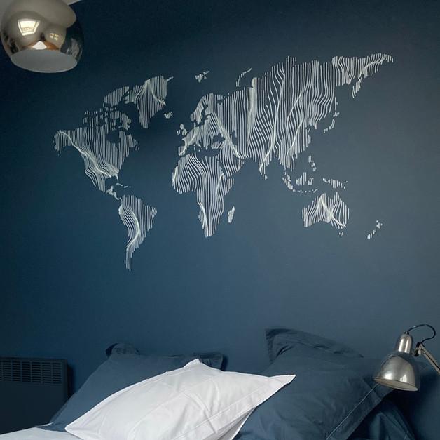 Drapé du monde