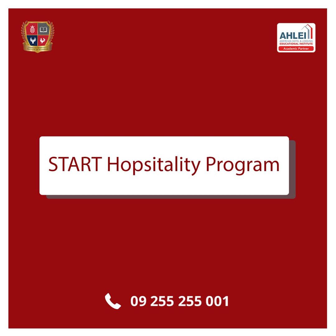 START Hopsitality Program Course