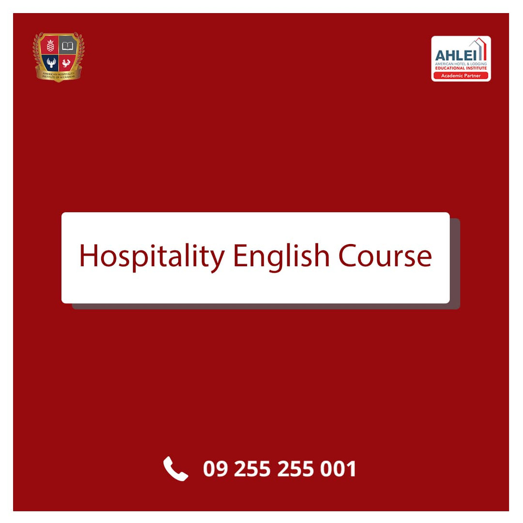 Hospitality English Course Course