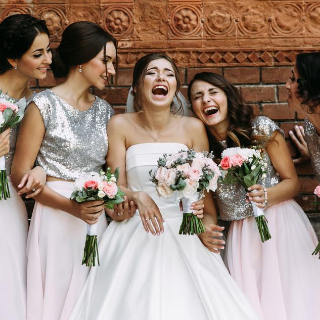 bigstock-Cute-Bridesmaids-And-A-Bride-A-