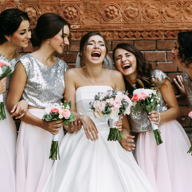 bigstock-Cute-Bridesmaids-And-A-Bride-A-
