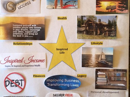 Let's See Your Vision Boards!