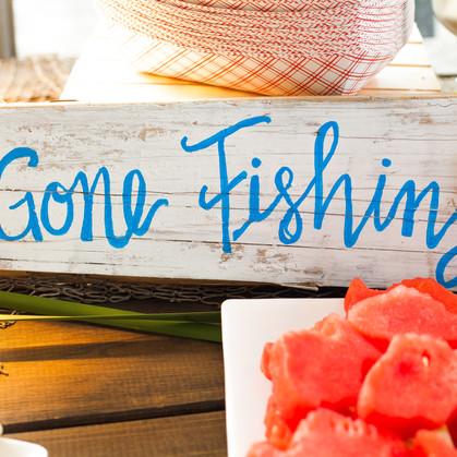 LET'S GO FISHING BIRTHDAY
