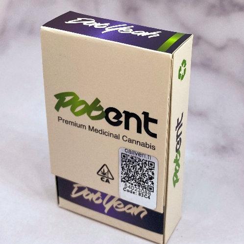 Potent Premium Distillate Carts - Dat Yeah (Indica)