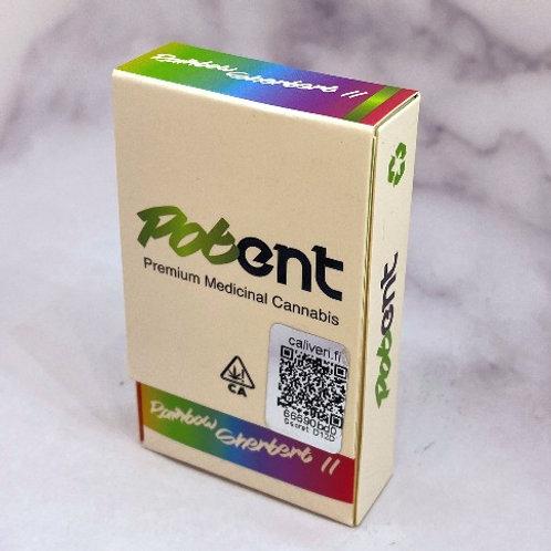 Potent Premium Distillate Carts - Rainbow Sherbert II (Hybrid)