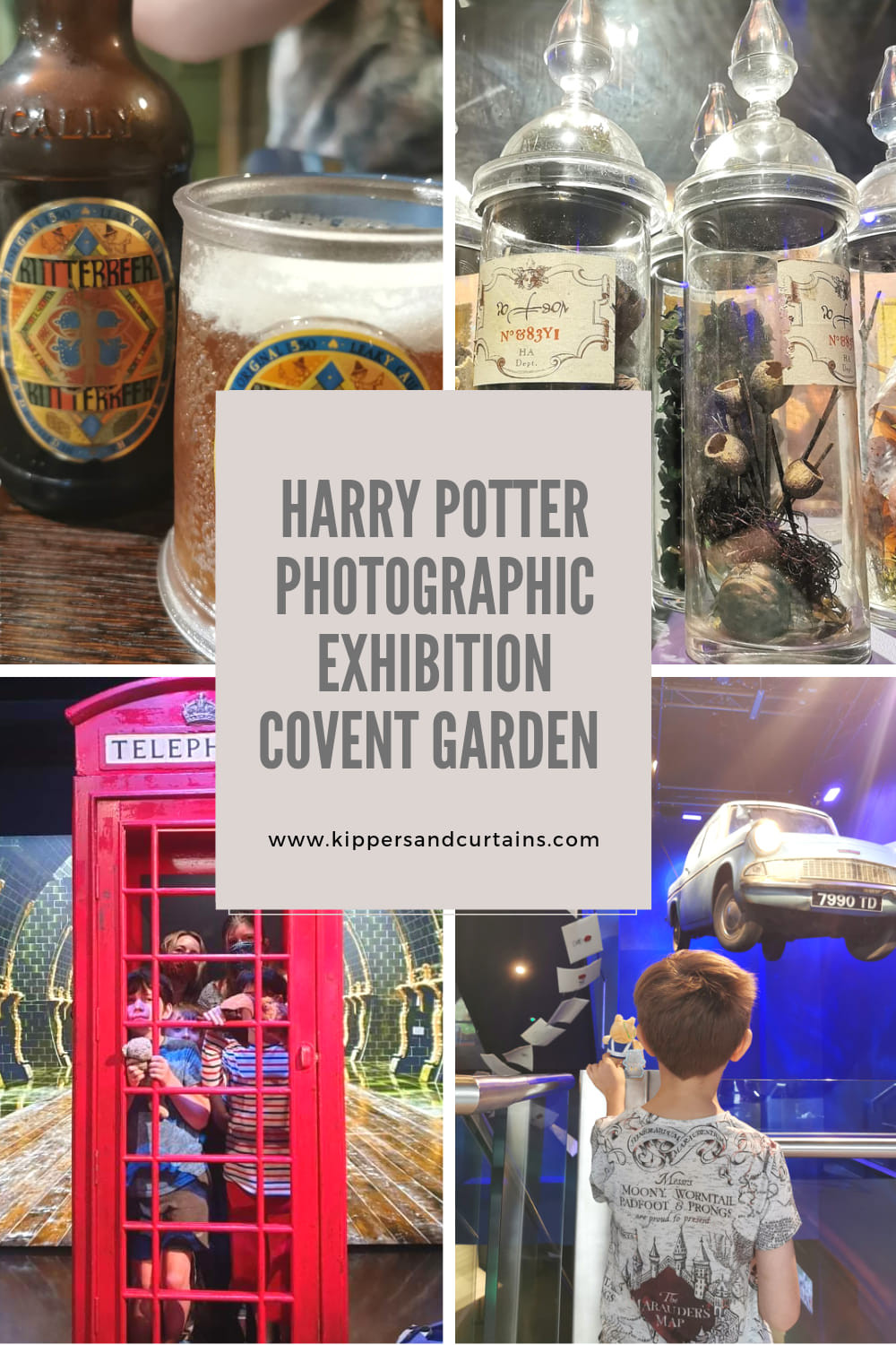 Harry Potter on Location Photographic Exhibition Covent Garden