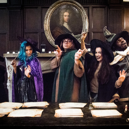 Witchcraft and Wizardry at Chiddingstone Castle
