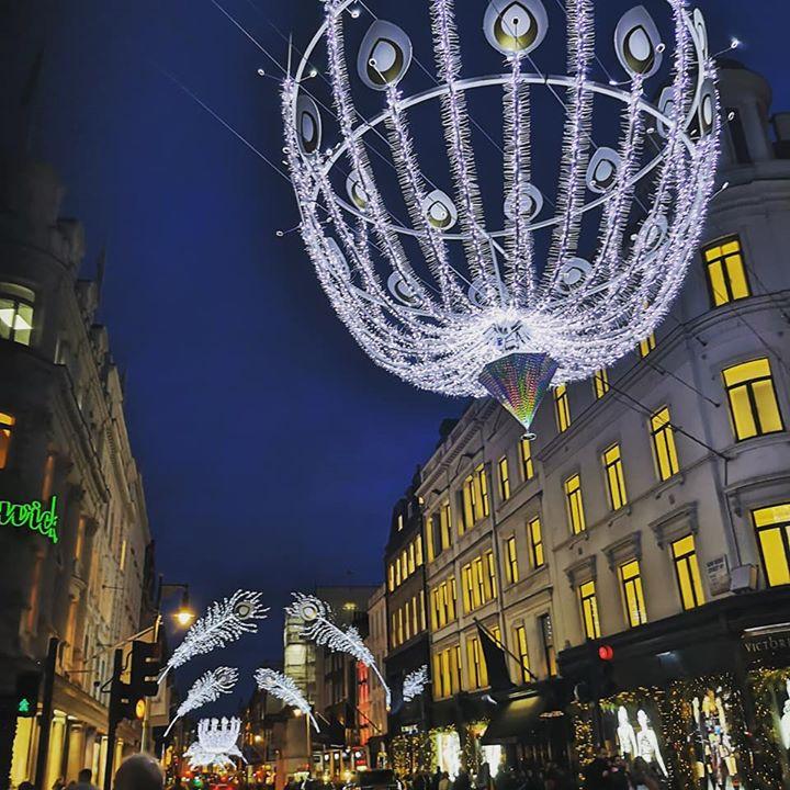 Bond Street Christmas lights 2019