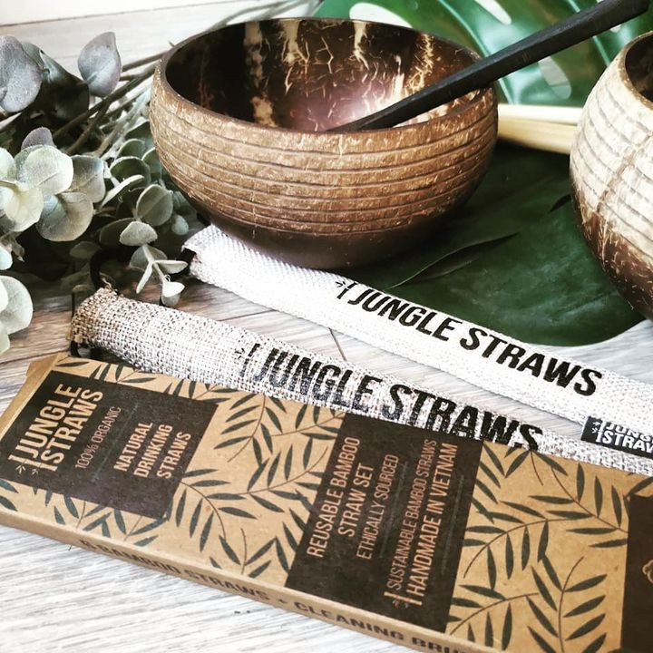 Jungle Straws bamboo straws