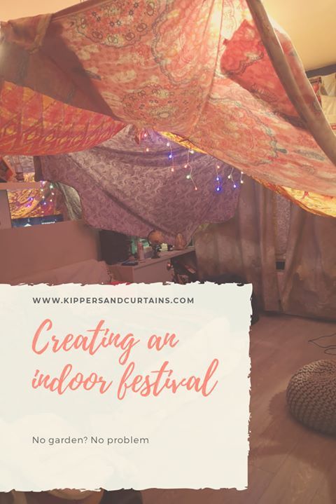 Creating an indoor festival