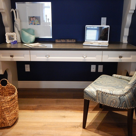 Turn your spare room into a cosy office space