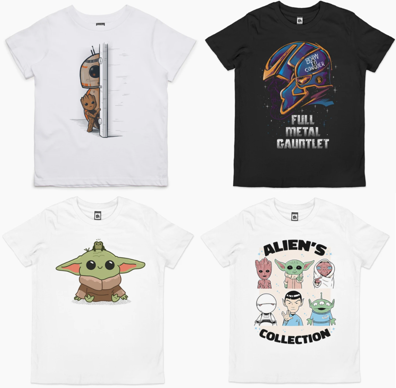 Star Wars kids t-shirts