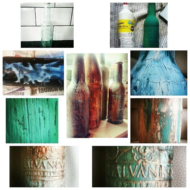 Instagram - DIY painted bottles