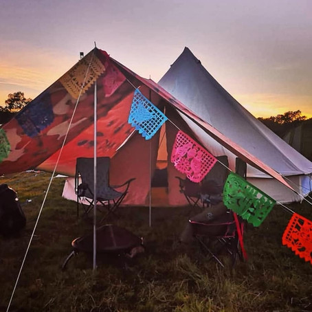 Bell tent camping tips for beginners