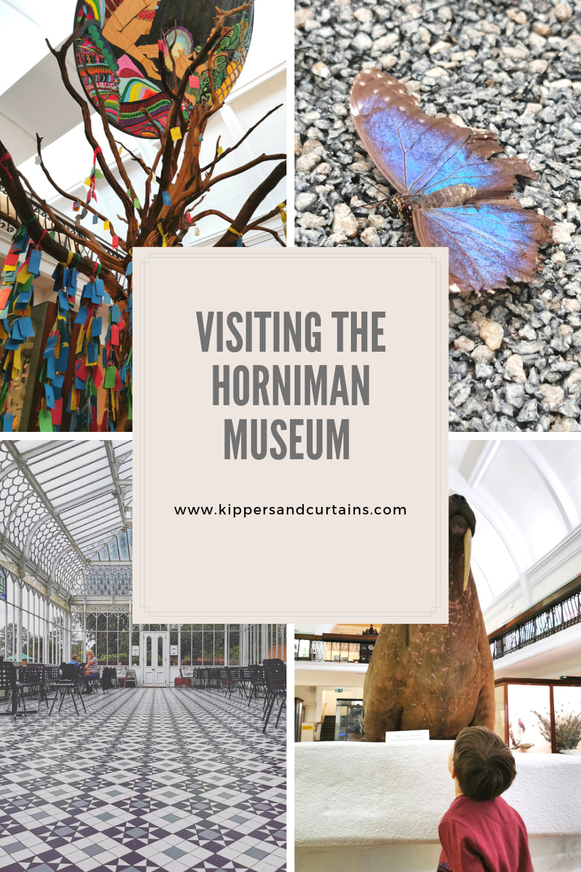 Visiting the Horniman Museum London