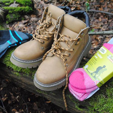 Taking a hike in Bridgedale socks