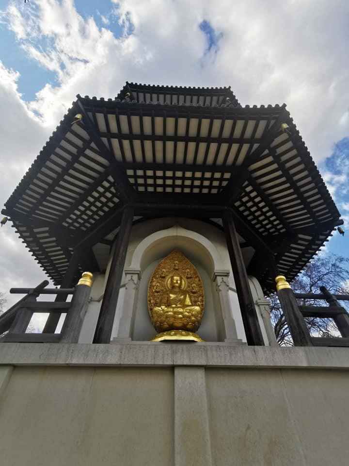 London Peace Pagoda Battersea Park