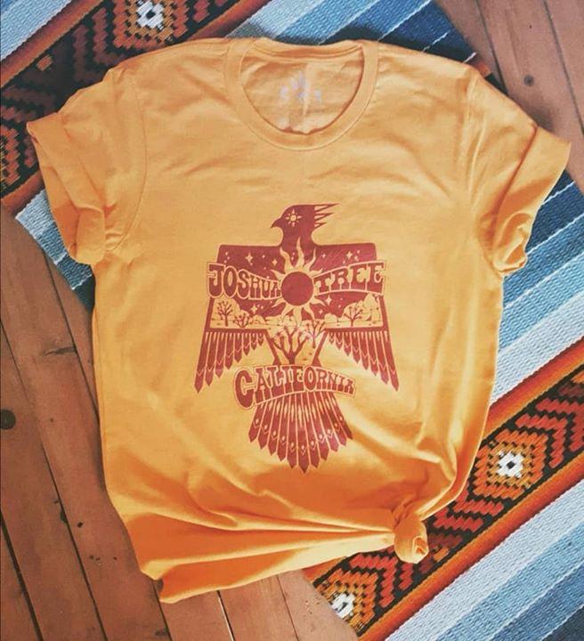 Joshua Tree Thunder Bird vintage tee shirt
