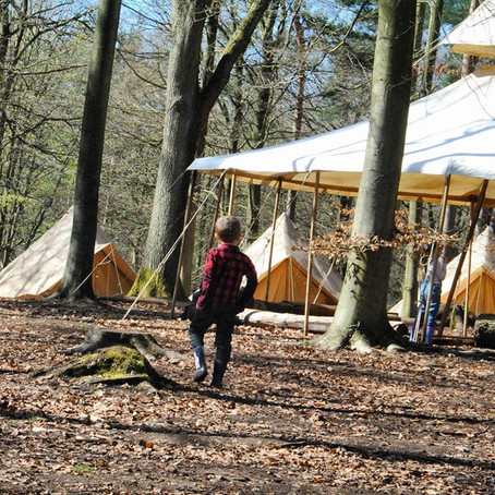 A day of bushcraft with Camp Wilderness