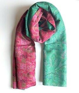 Jewelled Buddha scarves