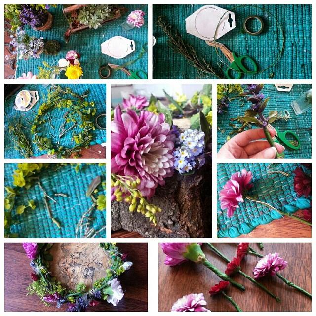 Instagram - Step by step flower crown