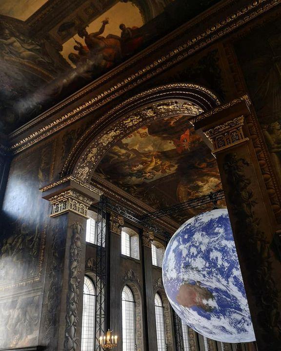 Gaia Luke Jerram Greenwich