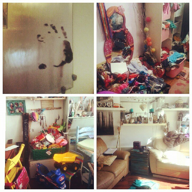 Instagram - Welcome to a home - a messy home!