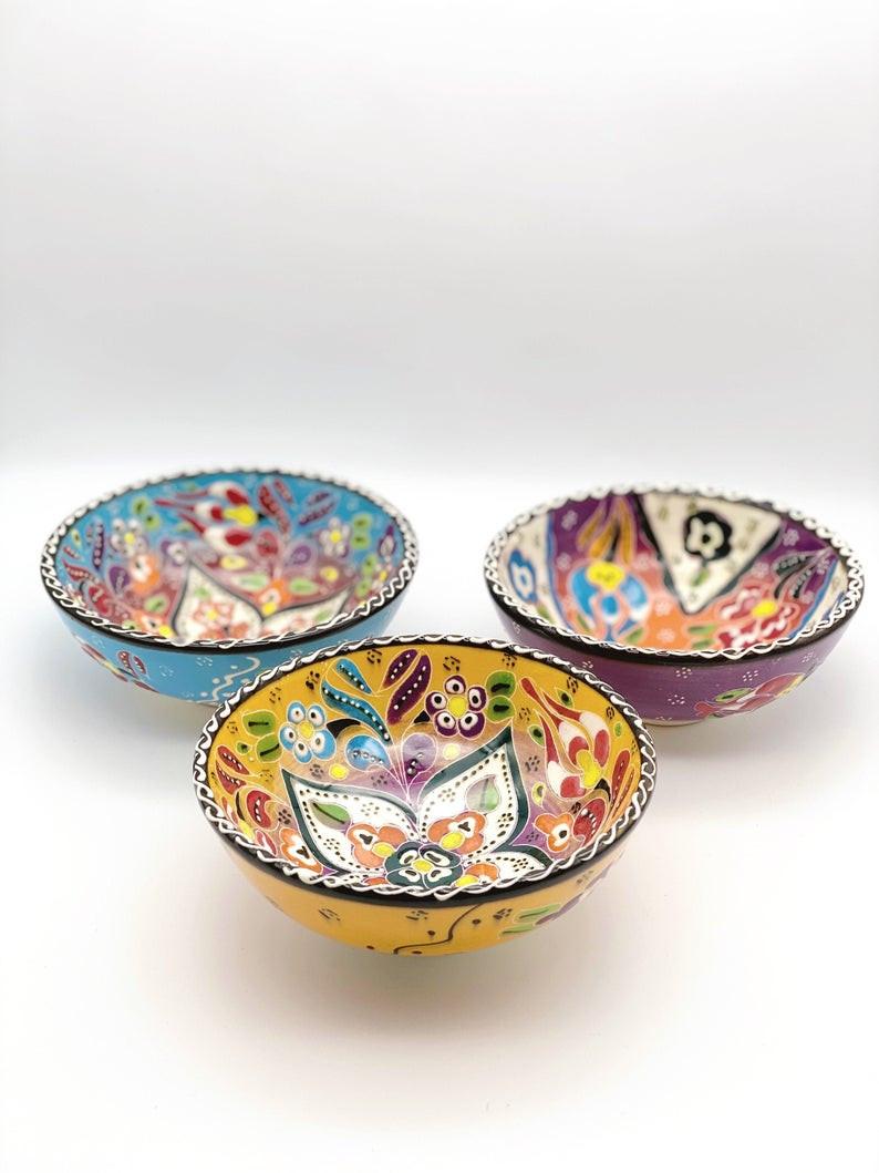 Turkish painted bowls