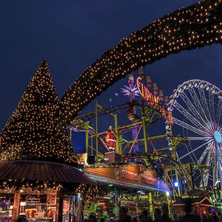 Frozen attractions at Hyde Park Winter Wonderland 2019