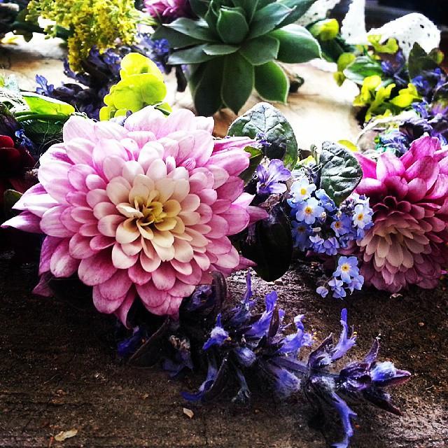 Instagram - Flower crown close up