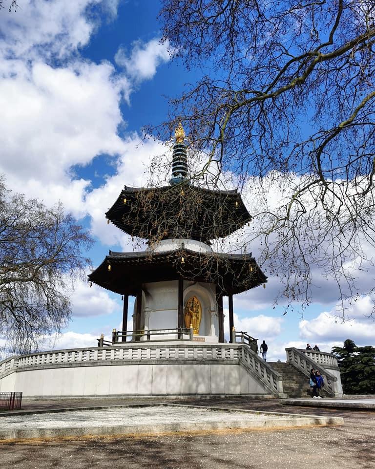 London Peace Pagoda Battersea Park