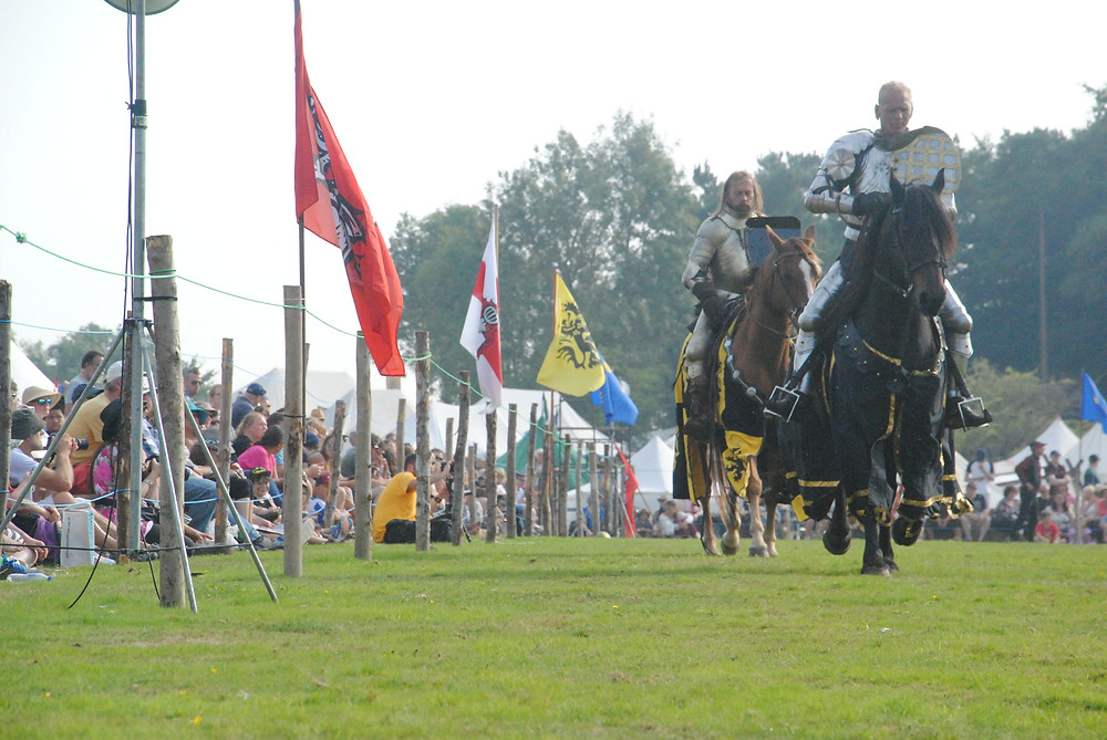 Knights of Camelot jousting