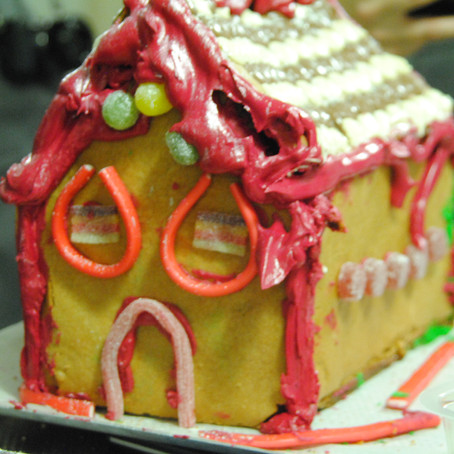 The Gingerbread House Bake-off #NEFFChristmas