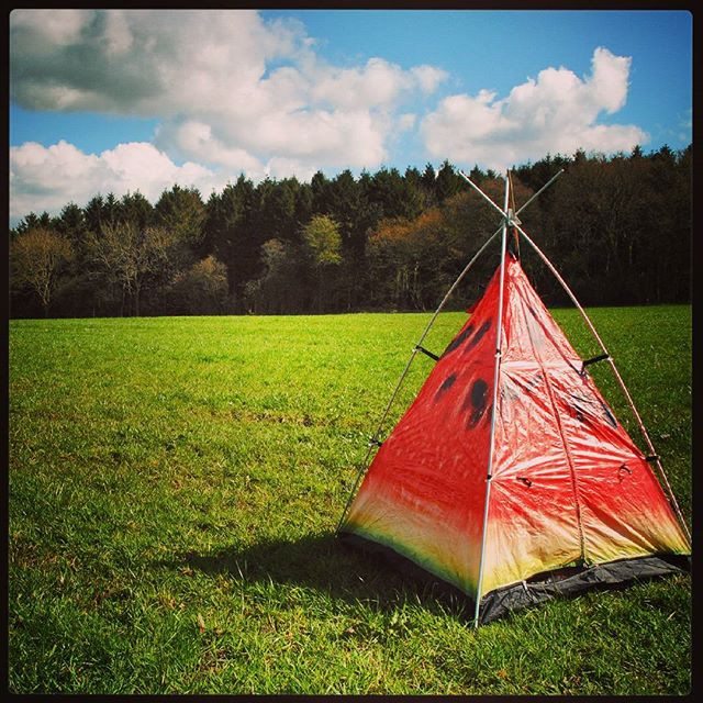 FieldCandy little camper play tent