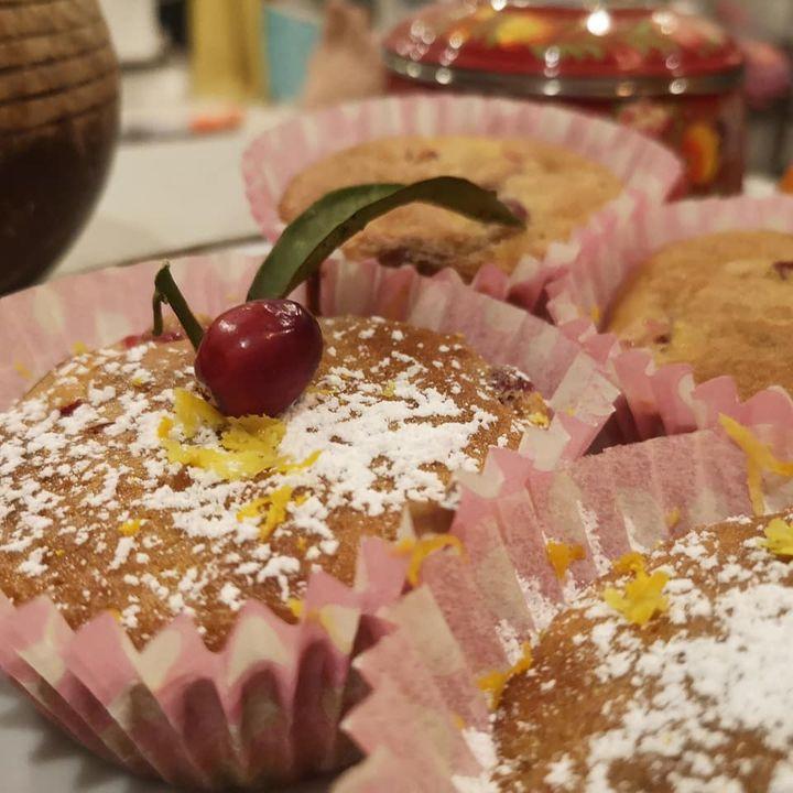 Festive clementine and cranberry muffins recipe