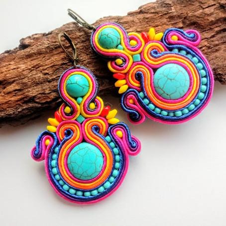 The best bohemian soutache earrings