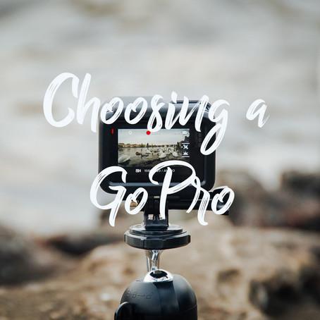 Choosing a GoPro