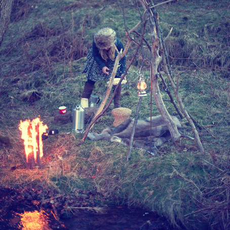 Glamping in the winter months - with The Glam Camping Company