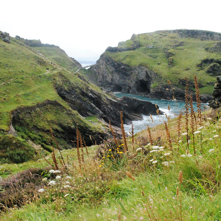 Exploring Tintagel