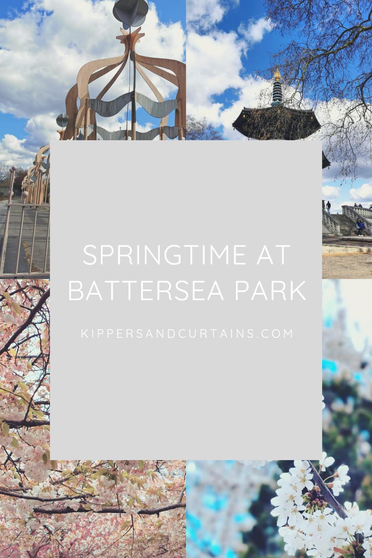 Springtime Battersea Park London