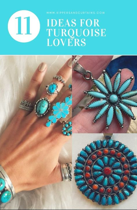 11 ideas for turquoise lovers