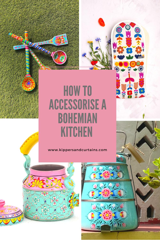 Bohemian kitchen accessories