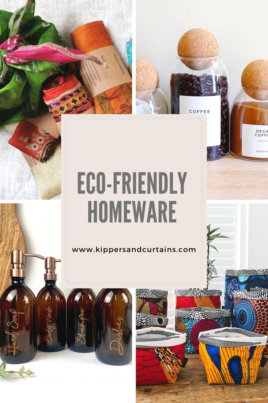 Eco-friendly homeware