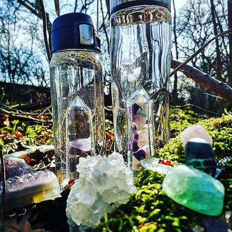 Gemstone Water Bottles from Bewater