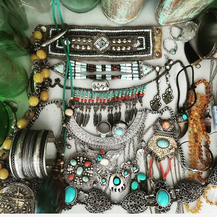 Turquoise bohemian boho jewellery