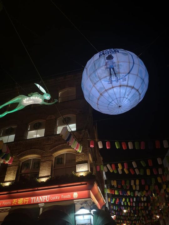 Chinatown lanterns London
