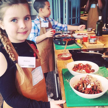 #HotpointKidsCook at The Jamie Oliver Cookery School