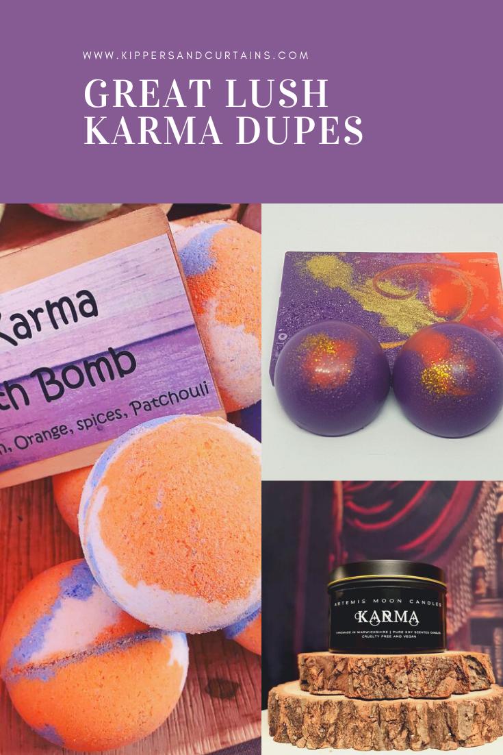Karma lush dupes