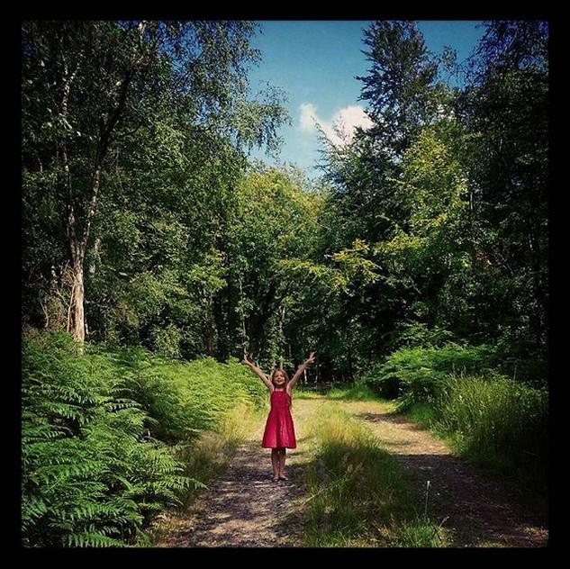Instagram - #latergram #towerwood #reddress
