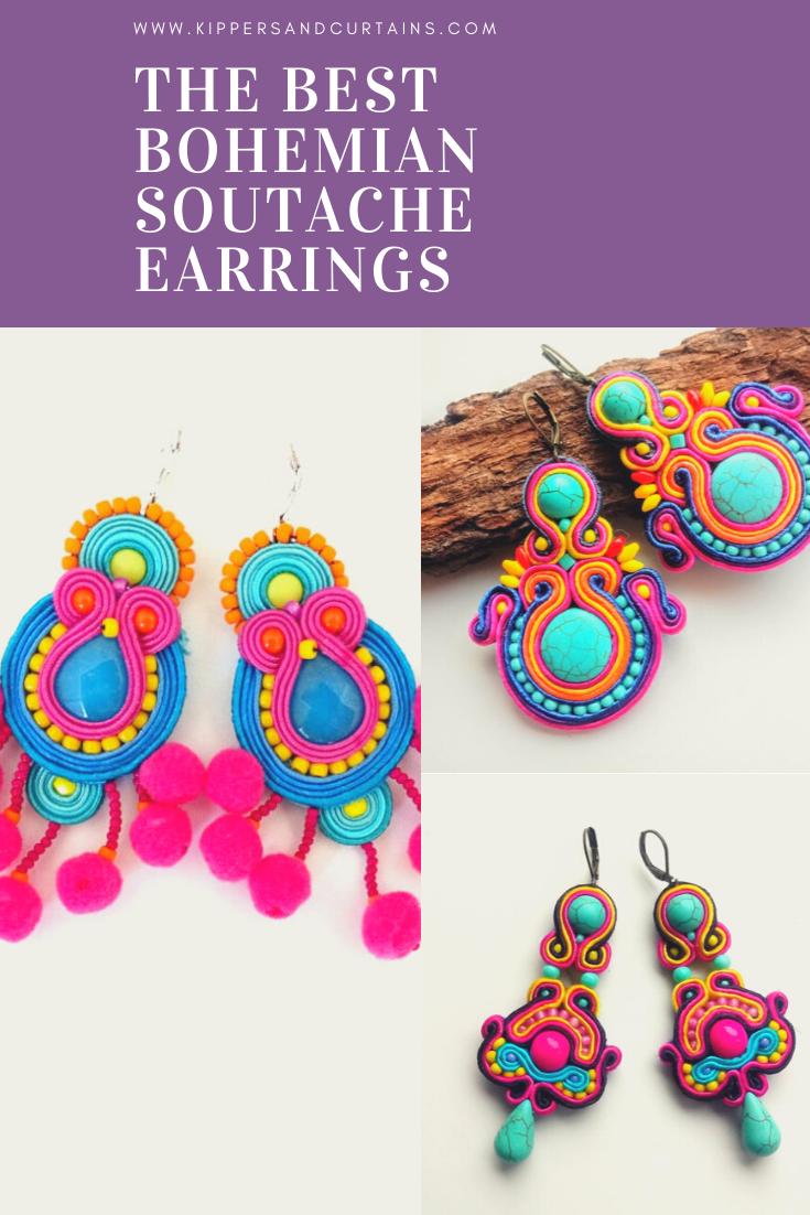 best bohemian soutache festival earrings